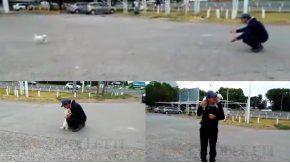 Un hombre pudo recuperar a su mascota en Río Negro