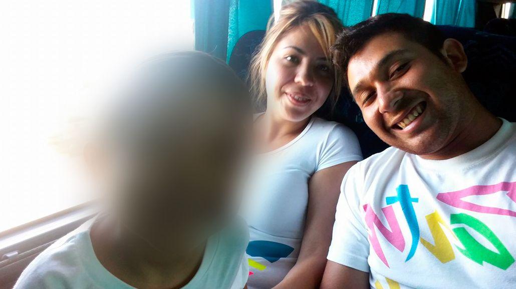 La foto de la familia antes de la tragedia