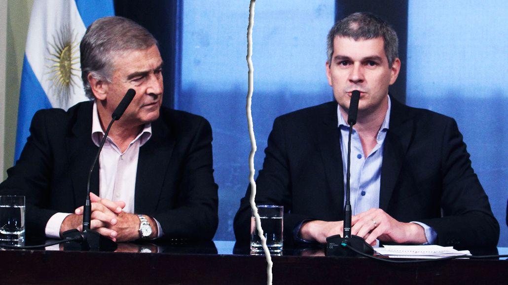 Aguad y Peña dan versiones contradictorias por el acuerdo del Gobierno con el Correo