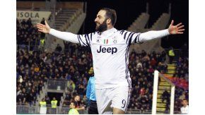 Juventus derrotó 4 a 1 a Palermo