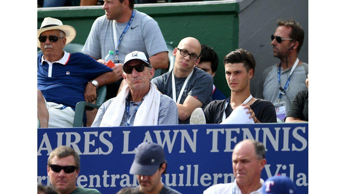 El DT del Seleccionado estuvo sábado y domingo mirando el Argentina Open en el Lawn Tennis