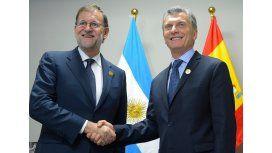 Mauricio Macri se reunirá con Mariano Rajoy en España