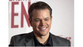 Matt Damon canta cumbia