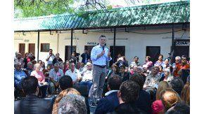 Macri con jubilados en Chaco