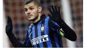 El goleador del Inter, multado