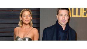 Kate Hudson y Brad Pitt, en pareja