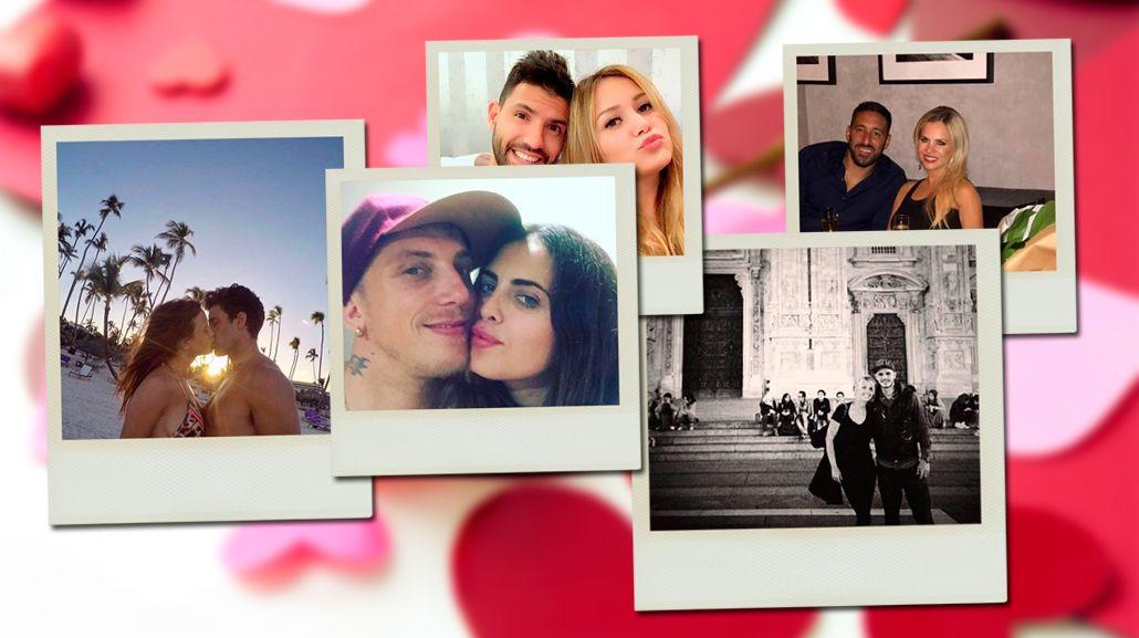 Día de los enamorados de los famosos