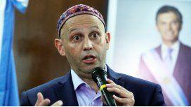 El rabino Sergio Bergman, ministro de Ambiente
