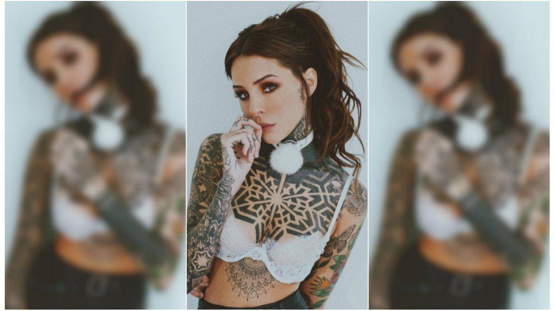 Candelaria Tinelli se hizo un nuevo tatuaje