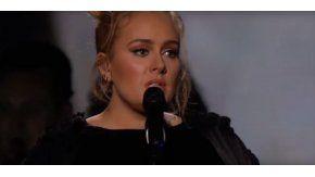 Gammeys: Adele se equivocó en el homenaje a George Michael