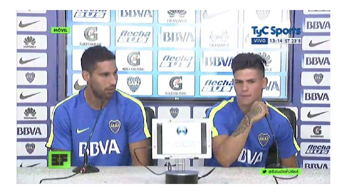 Juntos, Insaurralde y Silva pidieron perdón: No se va a volver a repetir