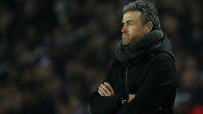 La desazón de Luis Enrique tras la goleada ante PSG