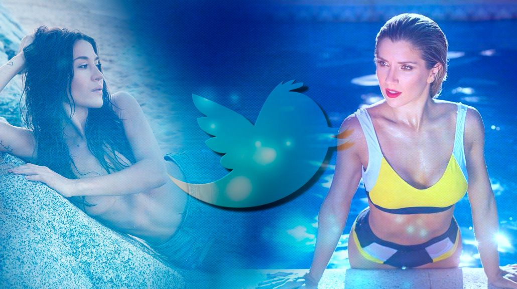 Jimena y Laurita se divirtieron en Twitter