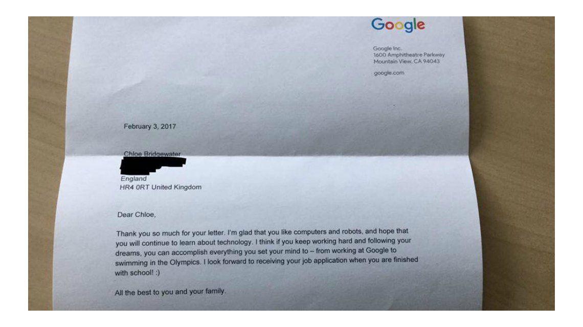 La respuesta del CEO de Google
