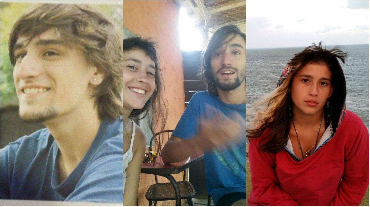 Josefina del Río y  Lucas Miguel Ferrer Pinto desaparecieron en Brasil el 30 de enero