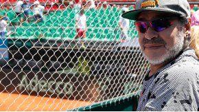 Diego Maradona habló de su reencuentro con Dieguito Fernando
