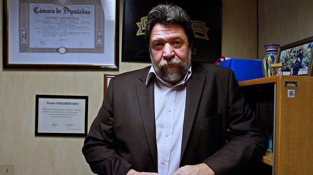Claudio Lozano criticó el acuerdo entre el Estado y el Correo