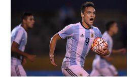 El delantero de Racing es la última gran aparición del fútbol argentino