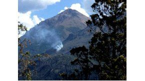Incendio en el refugio Frey, en el Cerro Catedral.