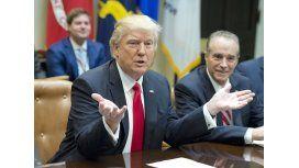 Donald Trump se quejó de su pesada herencia