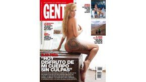 Flor Peña en la tapa de revista Gente de esta semana