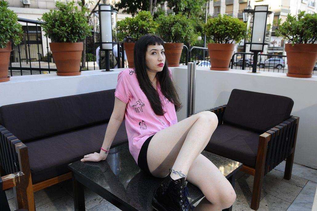 Sofía Gala se tinó el pelo para su nueva película
