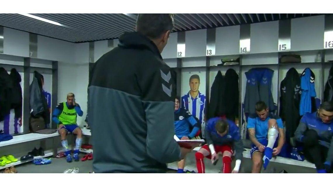 Pellegrino le pidió concentración a sus jugadores en el vestuario