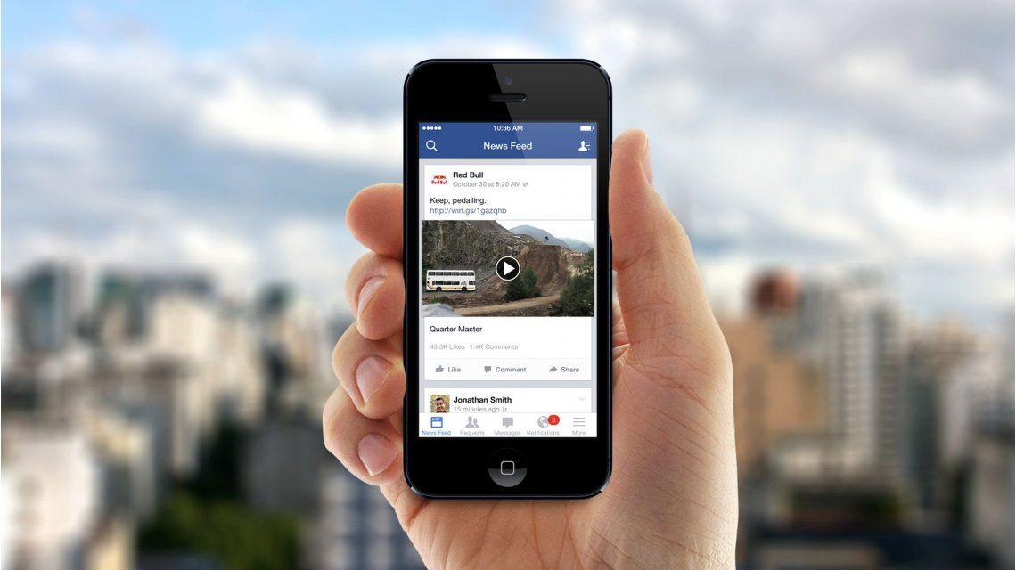Importantes cambios en los videos de Facebook