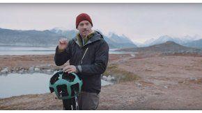 Un actor de Game of Thrones muestra cómo afectó el cambio climático a Groenlandia