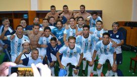 Los jugadores de Atlético, con la camiseta de la Selección