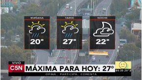 Pronóstico del tiempo del sábado 11 de febrero de 2017