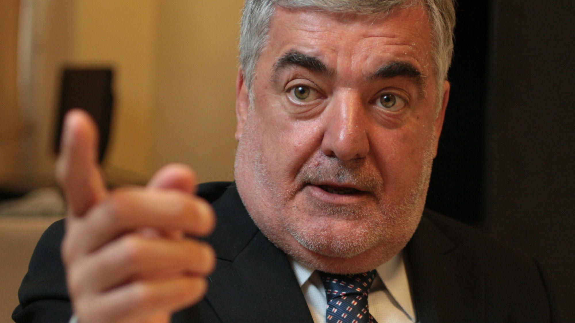 Mario Das Neves, gobernador de Chubut<br>