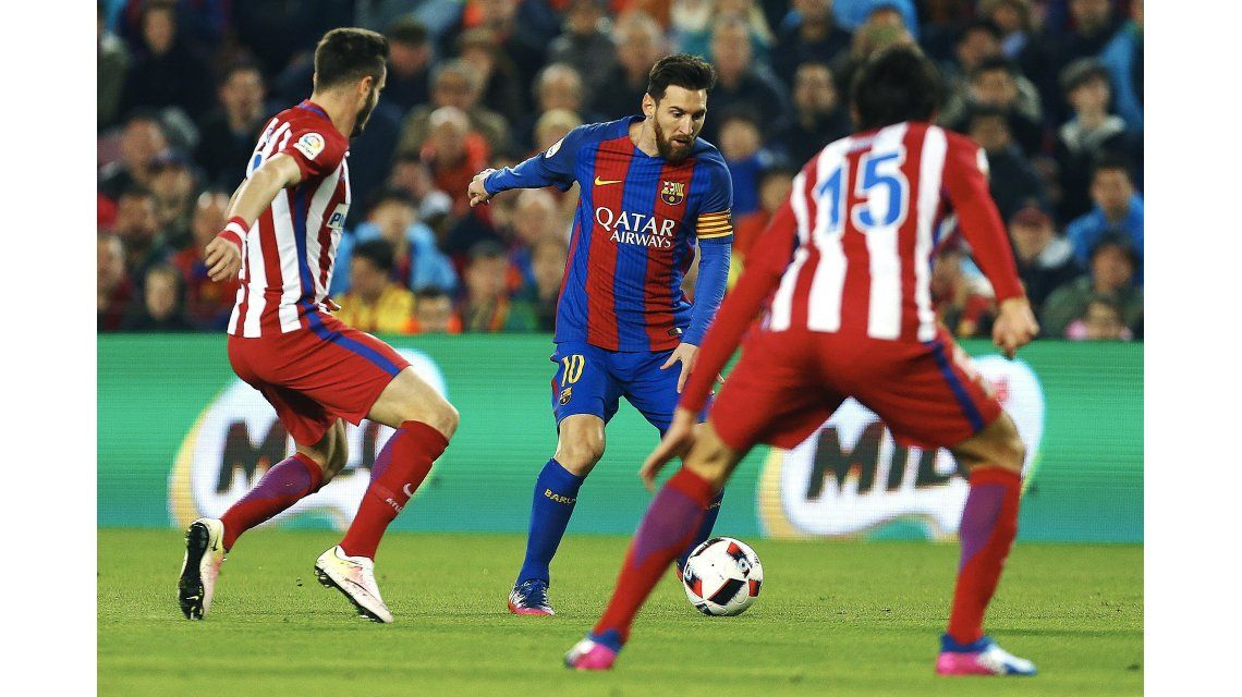Atlético es la víctima preferida del jugador rosarino