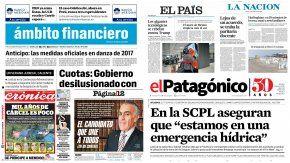 Tapas de diarios del martes 7 de febrero de 2017