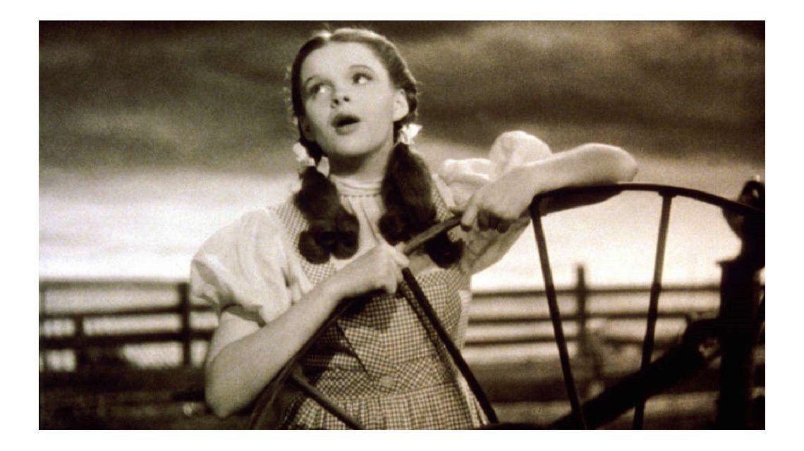 Judy Garland reveló que fue abusada durante la filmación de El mago de Oz