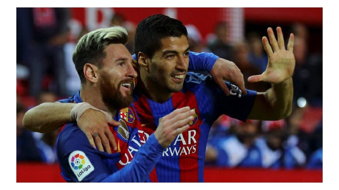 Luis Suárez habló de la relación con Messi - Crédito:@LuisSuarez9