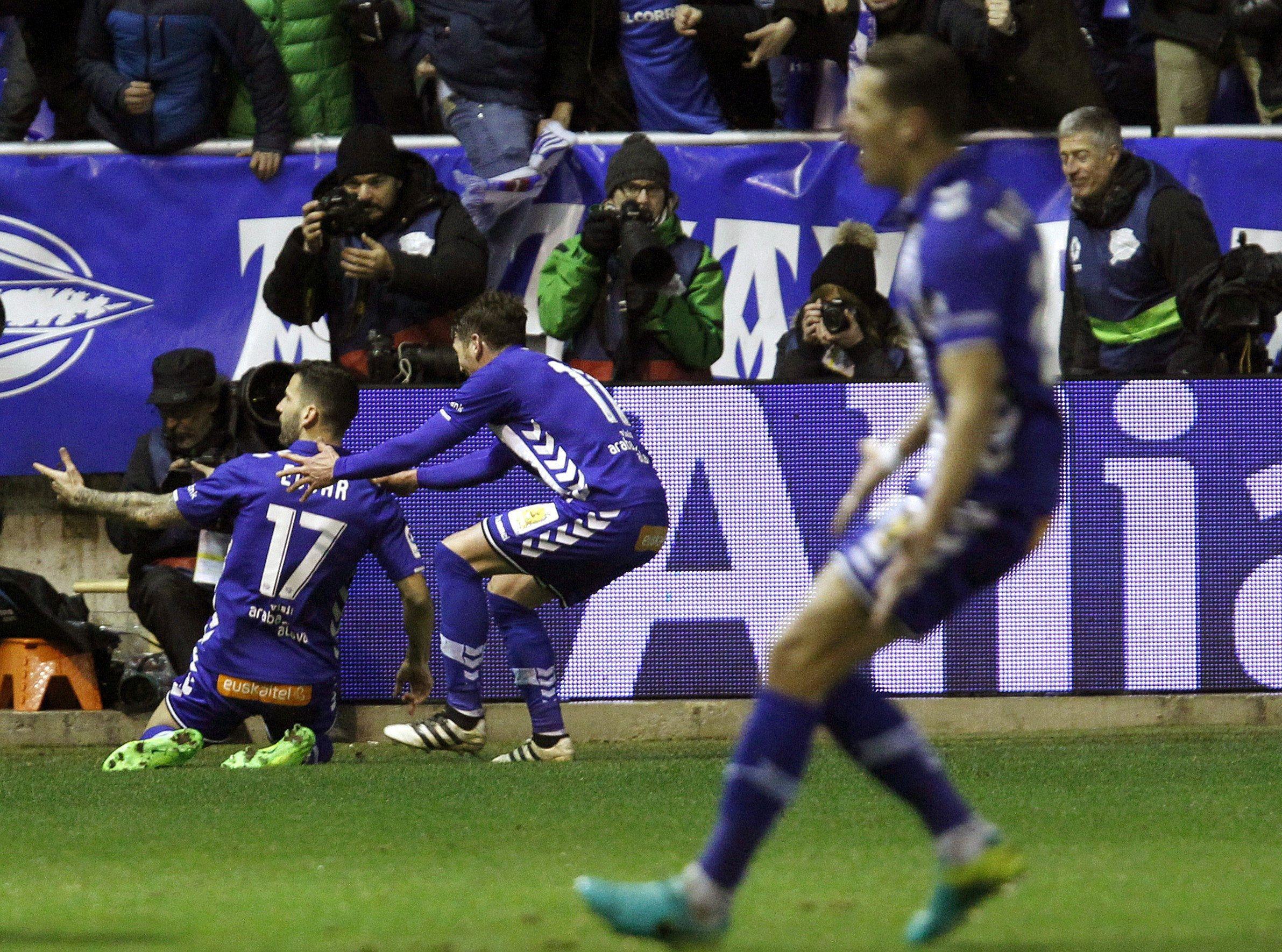 Copa del Rey: el Alavés de Pellegrino eliminó al Celta de Berizzo
