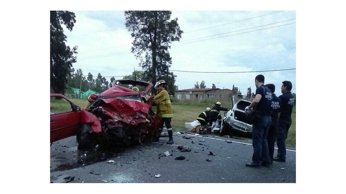 El accidente ocurrió en la ruta 1 de Uruguay