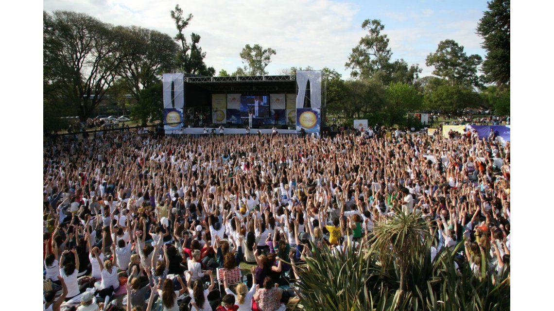 Planean una meditación masiva mundial para la próxima luna llena