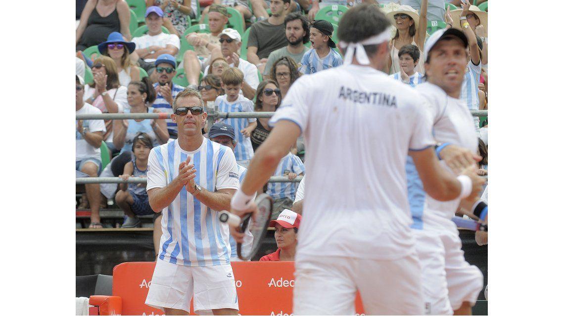Argentina visitará a Kazajistán en el repechaje de la Copa Davis