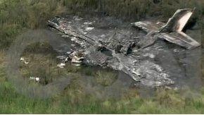 Cinco personas murieron tras estrellarse una avioneta