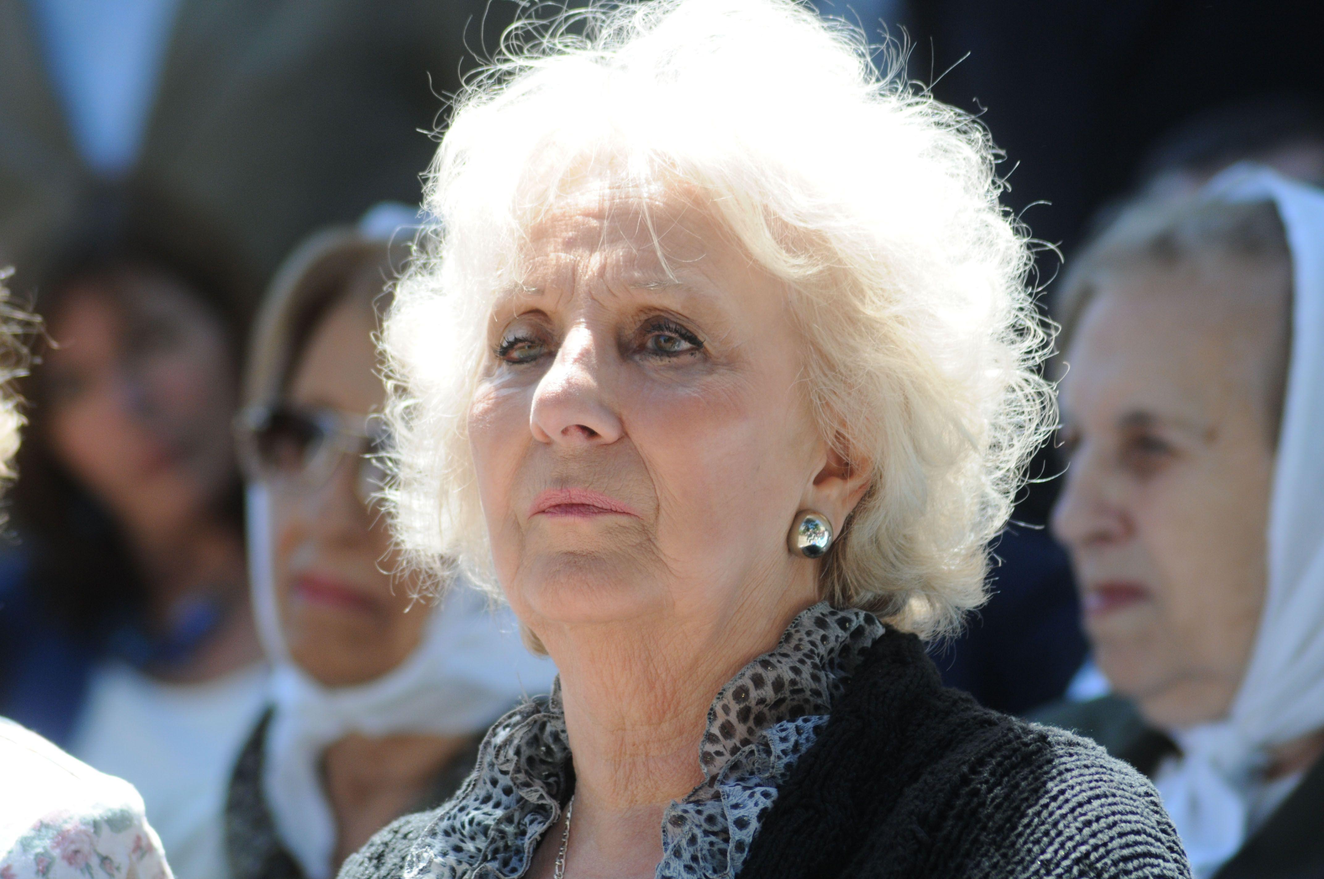 Estela de Carlotto volvió a pedir que Gómez Centurión sea separado de su cargo