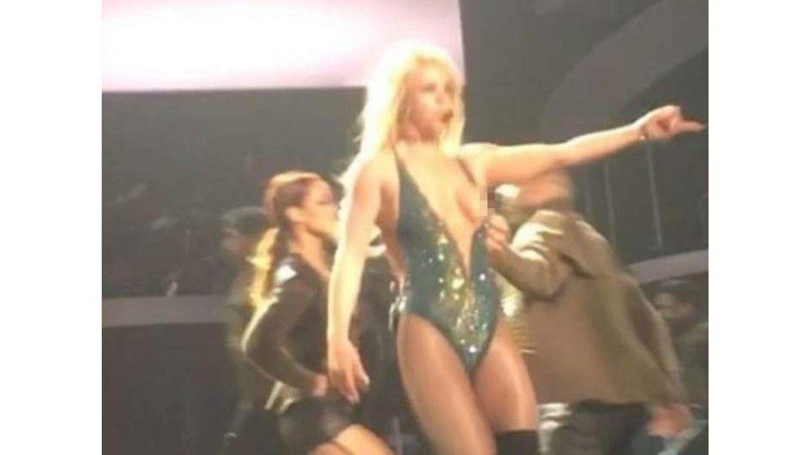 El descuido hot de Britney Spears