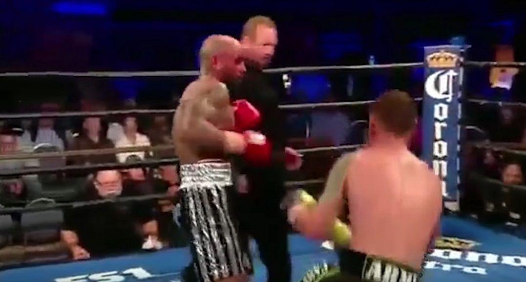 Luis Collazo noqueó a Sammy Vásquez