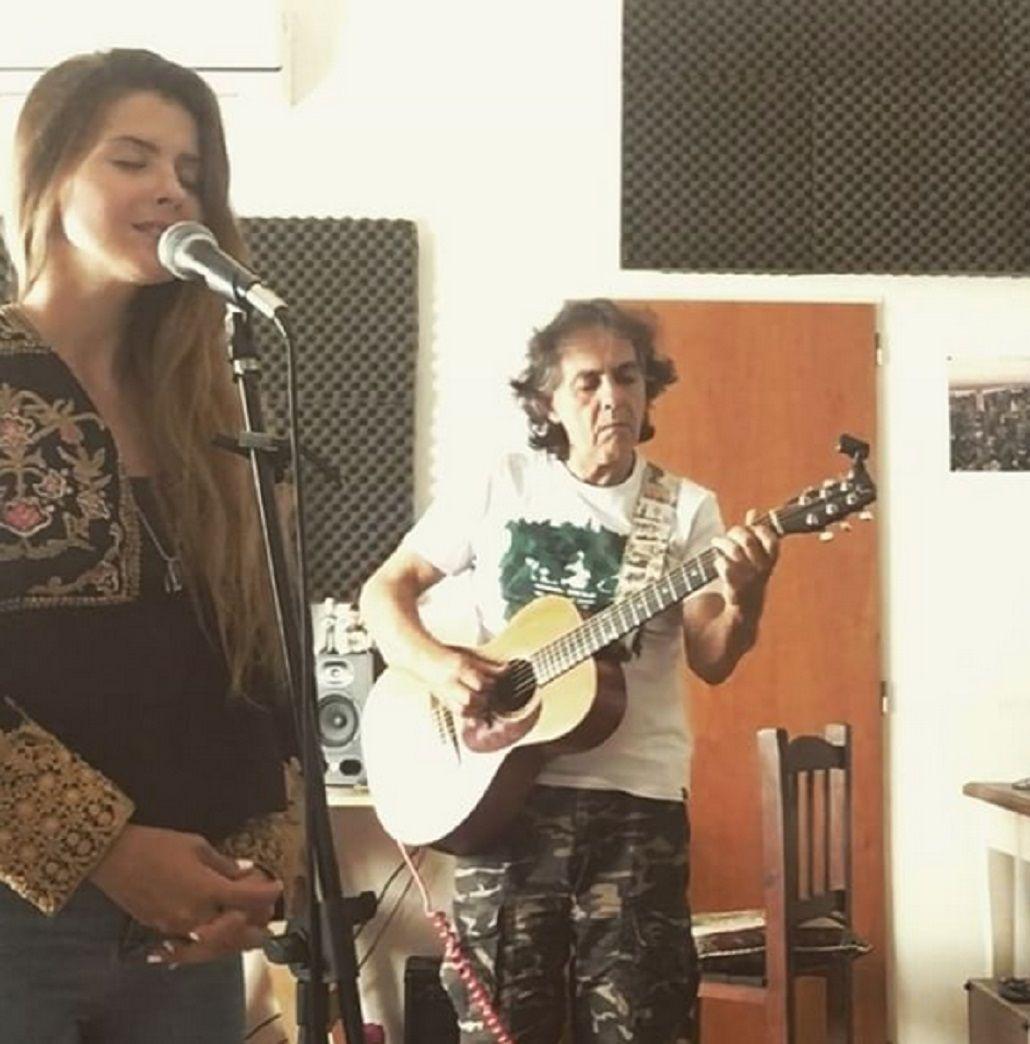 La China Suárez cantando la canción de La La Land
