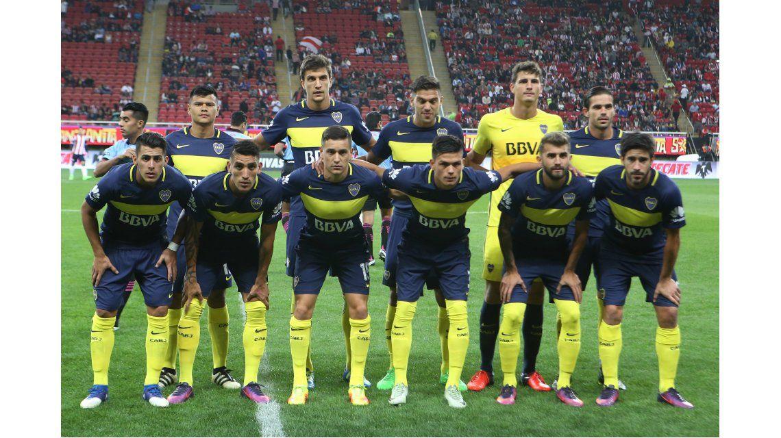 Así salió Boca a enfrentar a Chivas en México