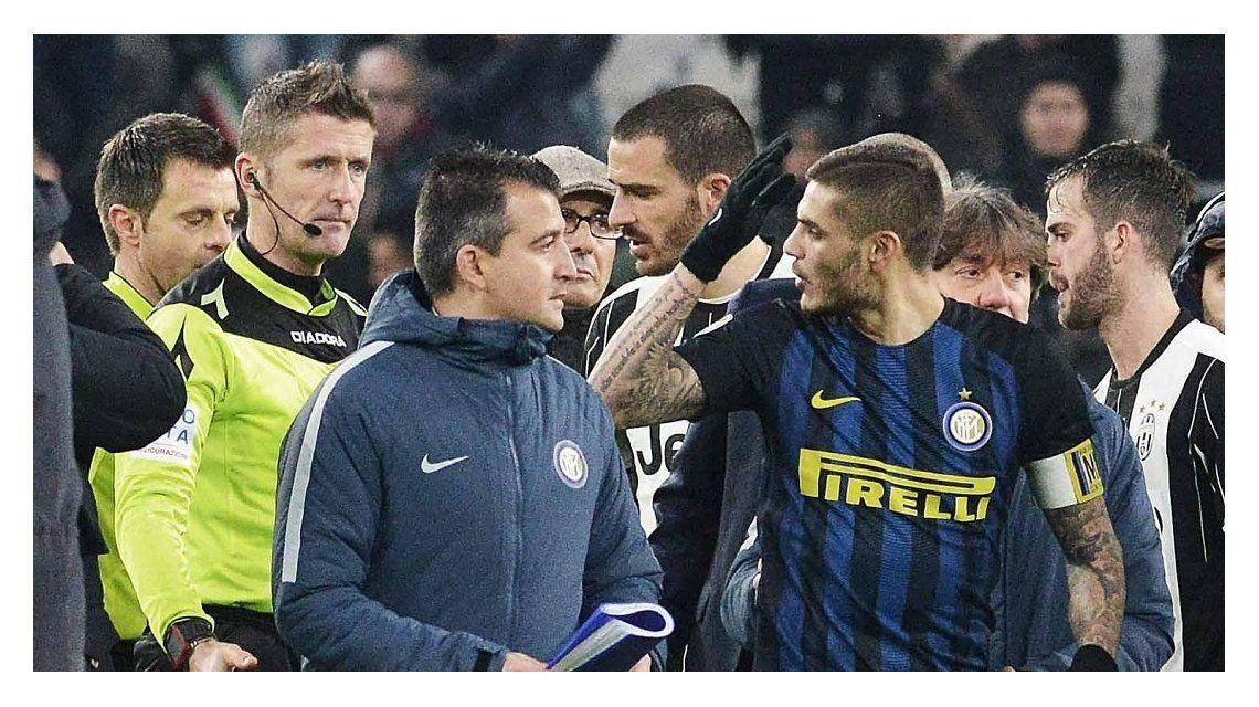 Icardi recibió dos fechas de suspensión por increpar al árbitro