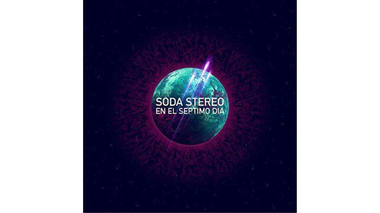 Con este logo presentaron En el séptimo día los Soda Stereo