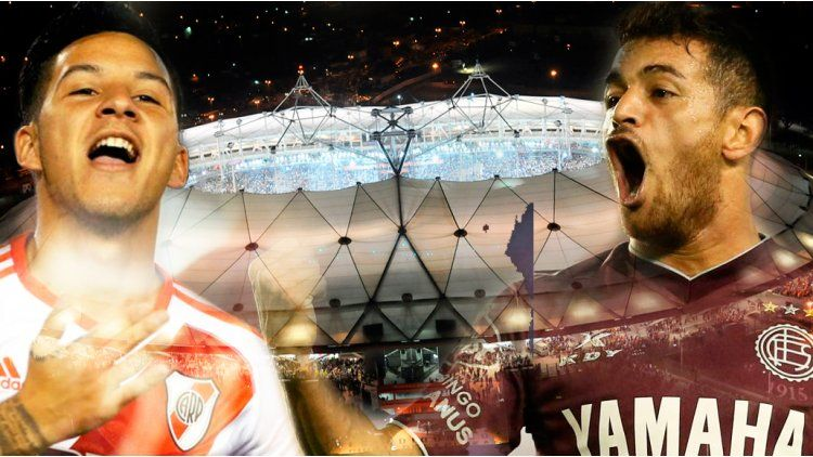 River y Lanús definen al mejor equipo del 2016