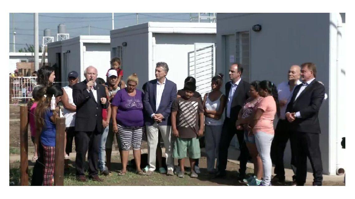 Macri entregó viviendas en Santa Fe